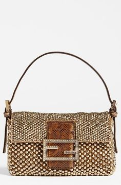 Fendi Mini Beaded Baguette Clutch Bag, Fendi Clutch, Fendi Scarf, My Bags, 95c794ed49e
