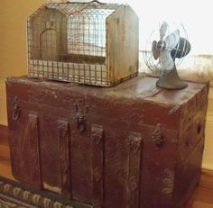 Vintage trunk.