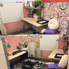Cubicle Decor your cubicle doesn't have to be ugly. cubicle ideas. cubicle