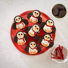 Polar Penguin Cupcakes