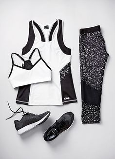 Fitness Wear - Skip Expensive Gyms With These Fitness Tips * Read more details by clicking on the image. Cute Workout Outfits, Sporty Outfits, Athletic Outfits, Workout Wear, Cool Outfits, Sport Fashion, Look Fashion, Fitness Fashion, Fashion Outfits