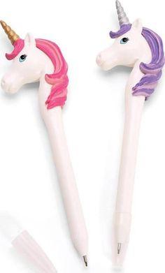 Onde comprar, Canetas unicórnio, pen unicorn, pen cute #materialescolar #unicornio #cutepen http://www.urbaninha.com.br/canetas/