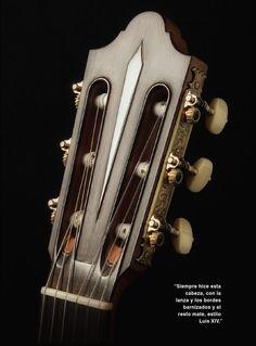 Cabeza, guitarra de Daniel Friederich