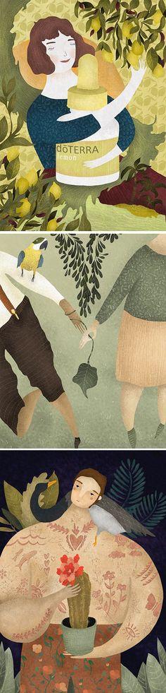 Illustrations by Amalia Restrepo