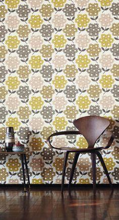 D co wallpaper papier peint on pinterest 55 pins - Marimekko papier peint ...