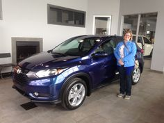 Congratulations to Jennifer on the purchase of her new 2016 Honda HRV!