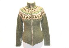 The knitted sweater cardigan The Forest Fairy / by TaniaSh on Etsy, $190.00