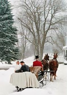 Wonderful winter wonderland for the holidays..