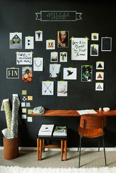 Studio inspiration wall 64021