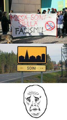 Soini fasismi, koska hitler! - hauskat kuvat - Naurunappula