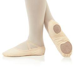 Liberts Stretch Canvas Split Sole Ballet