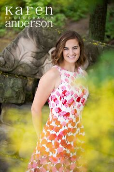 Senior photo girl by Karen Anderson Photography