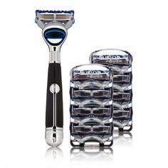 Fusion Chrome Razor. 49 more gift ideas for #FathersDay: http://www.menshealth.com/best-life/fathers-day-gifts?cm_mmc=Pinterest-_-MensHealth-_-Content-BL-_-FathersDayGifts