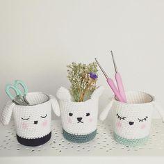 Good Morning {Pattern: Tendre crochet 2 by Yarn: Catania - Schachenmayr} by madamefux Quick Crochet, All Free Crochet, Crochet Toys, Knit Crochet, Yarn Projects, Crochet Projects, Crochet T Shirts, Crochet Home Decor, T Shirt Yarn