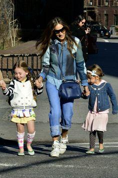 Sarah Jessica Parker twins fashion