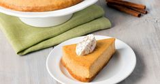The intersection of pumpkin and cheesecake makes for a delightfully different dessert.