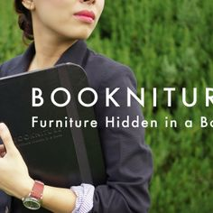 BOOKNITURE- A Furniture Hidden In A Book