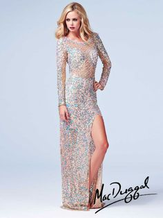 Cassandra Stone by Mac Duggal Style 3908A now in stock at Bri'Zan Couture, www.brizancouture.com