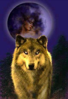 Wolf... By Artist Lazarius ...