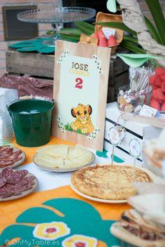 Cumpleaños del Rey Leon, Lion King Birthday Party