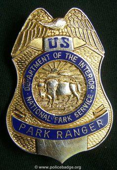 Badge US Park Ranger by dynamicentry122, via Flickr