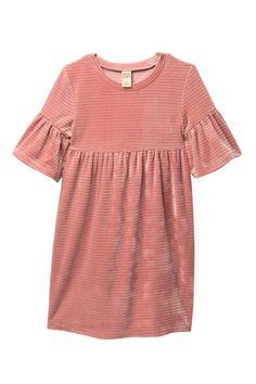 Harper Canyon - Textured Stripe Ruffle Dress (Little Girls   Big Girls).  Free 3acce5baf