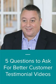 Customer testimonial videos might be the most effective type of video content, but they are sometimes also considered the most difficult type of video content to create. No problem! We've got your back with 5 questions to ask for better customer testimonial videos.