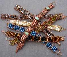 Treasure Bracelet pattern from Wire Sculpture