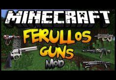 Minecraft Ferullo's Guns 1.7.10 Mod