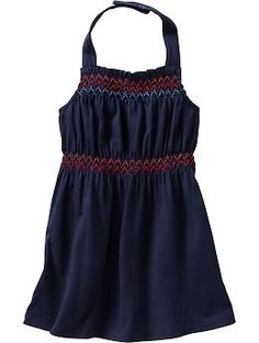 Smocked Halter Dresses for Baby | Old Navy