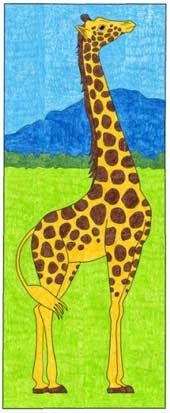 Giraffe Mural $5