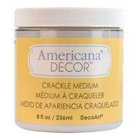 DecoArt Americana® Home Decor Chalky Finish Specialty Products