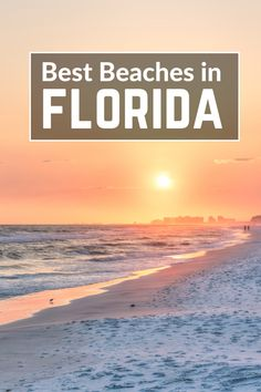 These Tropical Florida Beaches are Waiting for You! These Tropical Florida Beaches are Waiting for You! Best beaches in Florida; Find out which Florida Beach suits your fancy and get ready for the time of your life! Clearwater Florida, Florida Keys, Orlando Florida, Fort Myers Beach Florida, Best Beach In Florida, Destin Beach, Florida Vacation, Florida Travel, Florida Beaches