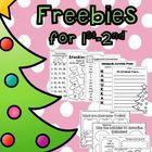 Enjoy these freebies! YES!!! FREEBIES!!!!!  Pick and choose the freebie that fits the needs of your students!!! GREAT for 1st-2nd Grade!!!   These ...