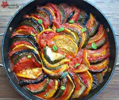 I just love this Ratatouille, it's fresh, healthy and so good for you. Not to mention very pretty, just look at the rainbow of colors! Vegetable Ratatouille, Ratatouille Recipe, Potato Recipes, Pasta Recipes, Casserole Recipes, Budget Recipes, Quick Dinner Recipes, Breakfast Recipes, Famous French Dishes