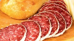 We're tasting salami with Chianti. Food Puns, Wine Parties, Italian Wine, Charcuterie, Wine Tasting, Italian Recipes, Feta, Sausage, Cool Things To Buy