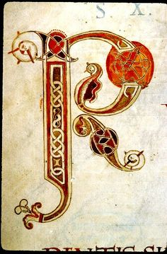 """P"". France 12cent. Vendome BM ms 0143 Enlumin. 