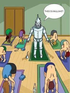 #tinman #yoga