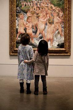 Museum and children (Erdinç Bakla archive) Museum Art Gallery, Art Museum, Les Innocents, Kids Photography Boys, Alexander Calder, Lewis Carroll, Les Oeuvres, Modern Art, Cool Art
