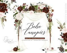 Commercial License for single item. No credit required, unlimited number of sales. Wedding Canopy, Wedding Ceremony, Thé Illustration, Illustrations, Wedding Strawberries, Boho Beach Wedding, Clip Art, Wedding Wreaths, Wedding Welcome