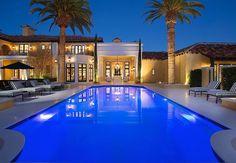 Visite d'une incroyable villa de luxe à  Las Vegas