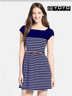 b4708630a0 Designer Blue Western Dress-Best Ethnic Wear By. New Trendy DressesBlue ...