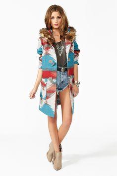 Durango Blanket Coat .