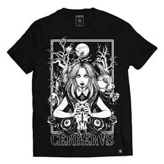 Cerberus Clothing t-shirt Dark Alice in Wonderland