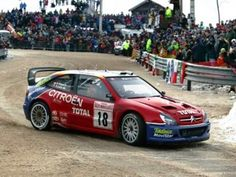 The Citroën Xsara WRC as driven by Sébastien Loeb and Daniel Elena to win the 2012 and 2013 Monte Carlo Rallies. Sport Cars, Race Cars, Rallye Automobile, Rallye Wrc, Monte Carlo Rally, Road Rally, Rally Raid, Motor Car, Racing