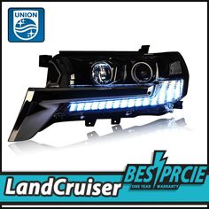 595.00$  Know more  - UNION One-Stop Shopping Car Styling for Land Cruiser LED Headlights FJ LED DRL Lens Double Beam H7 HID Xenon Car Accessories