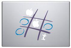 * Creatieve Macbook Decal - spel *  * Beschrijving * De stickers zijn gemaakt van hoge kwaliteit vinyl film. De film is geschikt voor de Macbook of een laptops en andere gladde oppervlakken zoals glas, spiegels, deuren, plafonds, en ook ongelijke oppervlakken zoals autos. De enige voorwaarde is dat het oppervlak schoon en glad moet.  * Grootte * Beschikbaar voor alle Macbook-modellen  * Kleur * Multi kleur  * Hebt u de optie voor het wijzigen van de kleuren voor dit product. Een aanvraag…