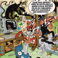 Mortadelo y Filemón, Agencia de Información