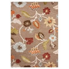 Invite fresh spring flair into your home with this eye-catching rug, adding a pop of style to your living room, home office, or master bed.