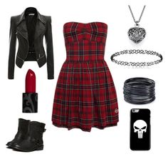 """Schoolgirl punk"" by devon-smith-1 on Polyvore featuring ABS by Allen Schwartz"